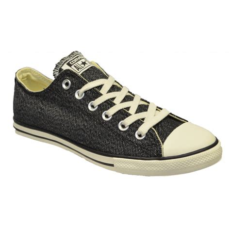 Converse Ct Unisex Low Black converse converse ct lean ox black n200 147047c unisex trainers converse from