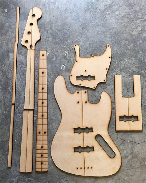 bass guitar templates guitar building templates jazz bass standard template reverb