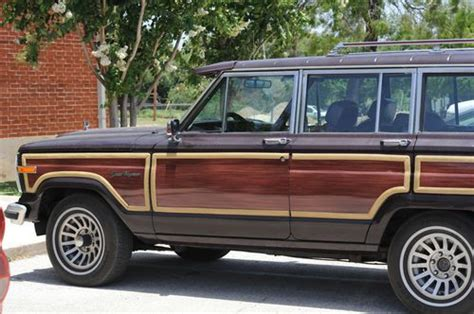 1987 jeep wagoneer interior purchase used 1987 jeep grand wagoneer 5 9l v8 4wd 4x4