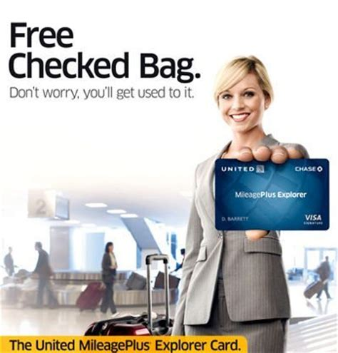 check in bag united free checked bag on united you to use your united card million mile secrets