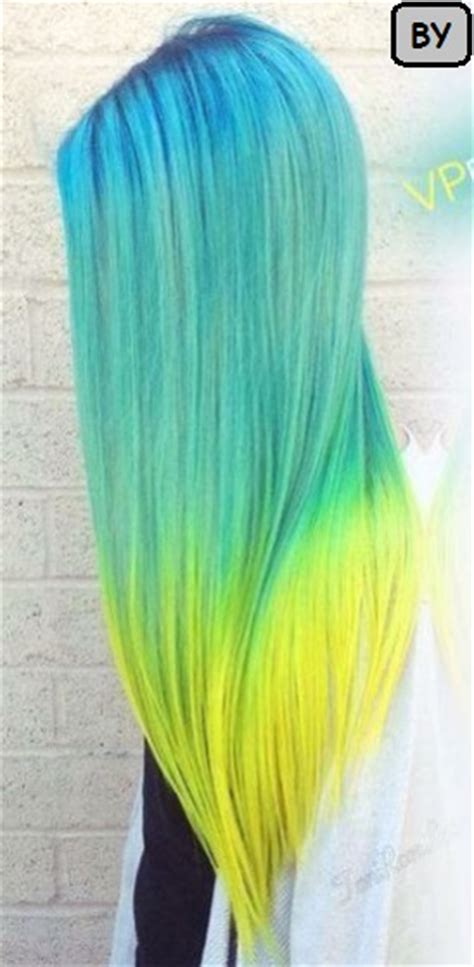 Sisir Kuas Cat Rambut Semir Biru gaya rambut panjang wanita cat kuning terbaru rini kursus salon dan kecantikan