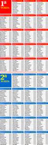 Calendario 2016 Liga Calendario Liga 2017 Fechas Y Jornadas