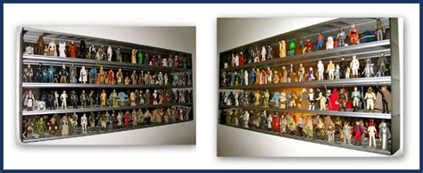 star wars action figure display cabinet photo gallery client displays