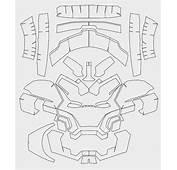 Dali Lomo Iron Man Paper FREE Template  Pdo By
