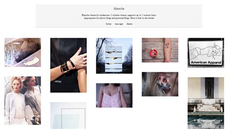 theme tumblr olly 45 free grid based tumblr themes inspirationfeed part 3
