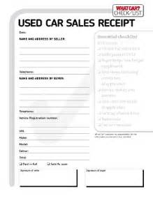 used car invoice template used car sales receipt fill printable fillable