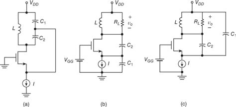 colpitts oscillator capacitor values colpitts oscillator capacitor values 28 images 12 8 common gate colpitts oscillator rf power