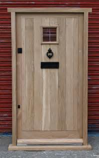 cottage doors exterior traditional solid oak front door cottage style made to