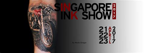 Singapore Ink Show April 2017 | 16 events in singapore you should attend this coming april