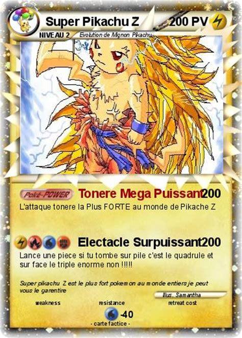 le torche la plus puissante au monde pok 233 mon pikachu z tonere mega puissant ma carte pok 233 mon