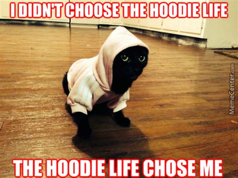 Hoodie Meme - 10 things every athlete needs on the bus