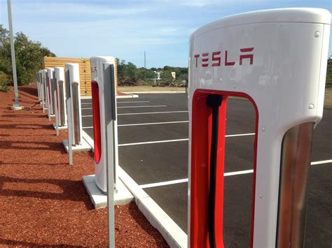 Charging Station Tesla Electric Vehicle Charging Stations Still Sparse On Cape