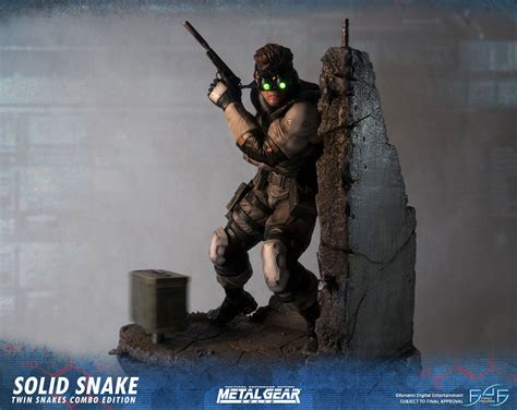 First4figures Mgs Solid Snake Statue First4figures Unveils Item In Their Metal Gear Solid