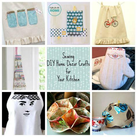 sewing diy home decor crafts   kitchen favecrafts