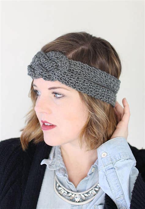 Knot Basic Headband Sailor Knot Crochet Headband Free Pattern Lou