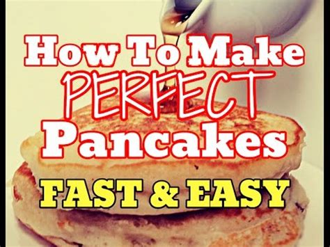 how to make pancake in less than 5 minutes cara membuat new how to make perfect pancakes quick cook fluffy