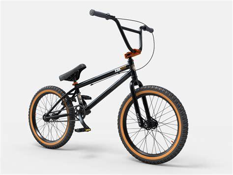Kickers 01k kicker bmx bike 2014 3d model max obj 3ds fbx