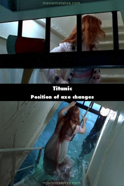 titanic film bloopers 20 titanic movie mistakes that you probably didn t notice