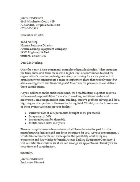 Exles Of Cover Letters For Resume resume cover letter exles sle resume cover letter