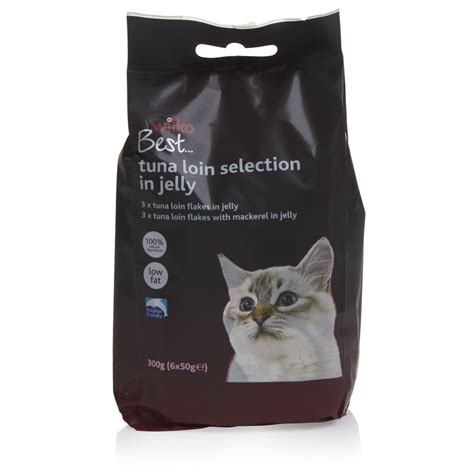 Cat Pouch Kitten Tuna Food wilko best pouch cat food tuna loin selection 6 x 50g at wilko