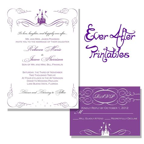printable invitation to disney world wedding invitation wording wording getting hitched