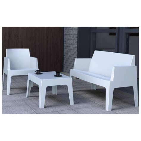 boxy sofa box urban sofa set by resol restaurant and garden furniture