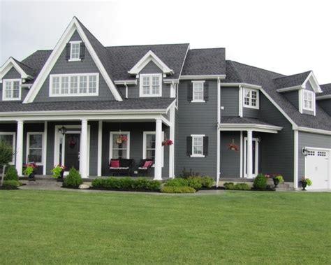 houses with dark gray siding dark gray siding and white trim dream homes pinterest