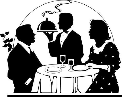 dinner silhouette romantic dinner for two clipart www pixshark com
