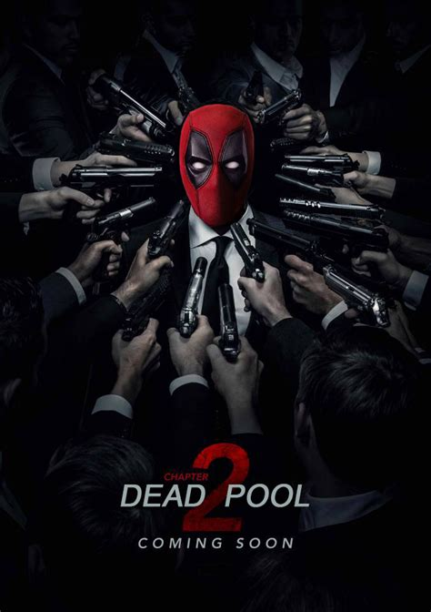 deadpool 2 poster deadpool 2 in theaters may 18 2018 page 2 hi def
