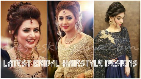 Indian Wedding Hairstyles 2017 by Wedding Hairstyles For Brides 2018 Bridal