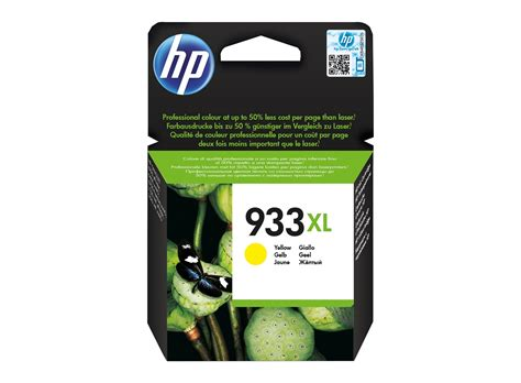 Cartridge Hp 933xl Yellow hp 933xl high yield yellow original ink cartridge hp