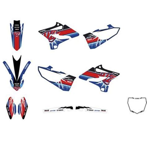 Yamaha Yz 250 Sticker Kit by Yz250 2019 Moto Yamaha Motor