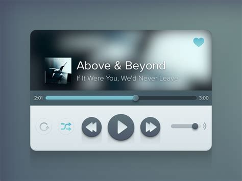 design html audio player music player by meng to dribbble