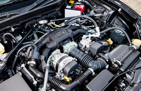 toyota gt 86 engine and gearbox evo