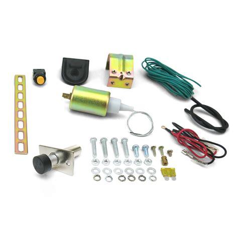 Door Popper Kit 15lb power trunk hatch kit with door popper steel