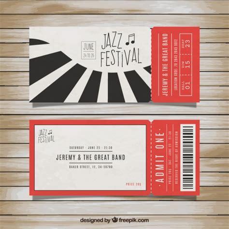 imagenes de entradas vip os ingressos para o festival de jazz baixar vetores gr 225 tis