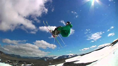 nick martini skier skiing tricks and jumps nick martini simon