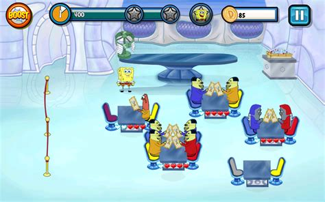 spongebob diner dash apk version spongebob diner dash deluxe for android