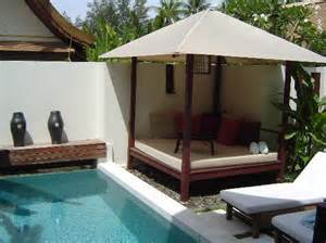 Day Bed By The Pool Plunge Pool And Daybed Picture Of Sala Samui