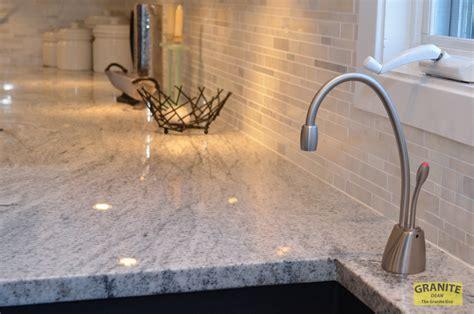 Granite Countertops Overland Park Ks siberian white granite makes this contemporary kitchen granite update overland park ks dean