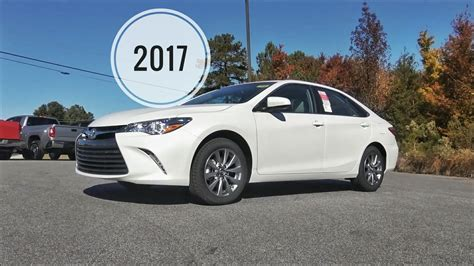 toyota camry 2017 interior 2017 toyota camry xle sedan in depth review tutorial