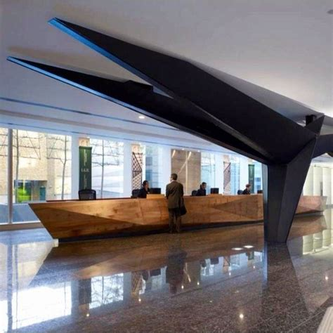 156 Best Office Lobby Reception Architecture Images On Lobby Reception Desks