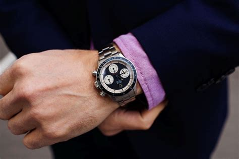 Dimention Silver White Combi Gold with rco rolex daytona paul newman reference 6263