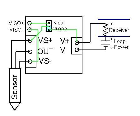 image showing wiring diagram of a loop at the showing