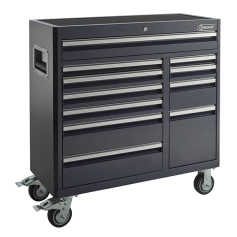 lowes kobalt tool cabinet shop kobalt 41 in x 41 in 11 drawer ball bearing steel