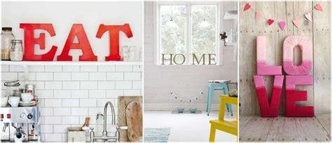 letras home decoracion decora tu hogar con palabras mediante el hand lettering