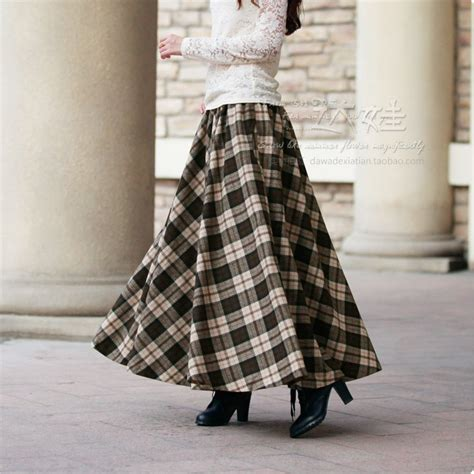 2015 autumn winter fashion wool skirt s