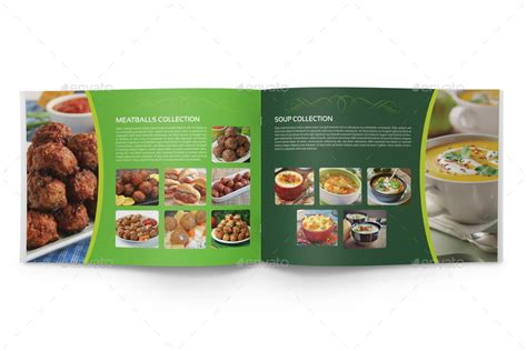 food brochure templates food products catalog brochure template 24 pages by