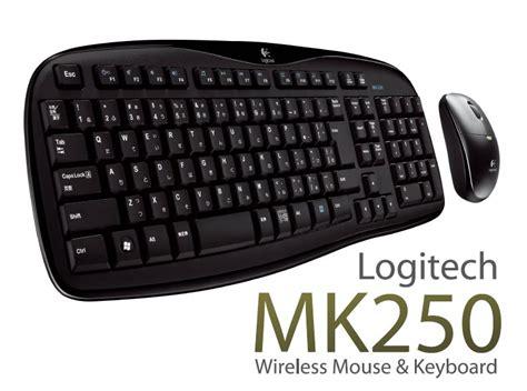 Keyboard Wireless Desktop Logitech Mk250 mk250 logitech