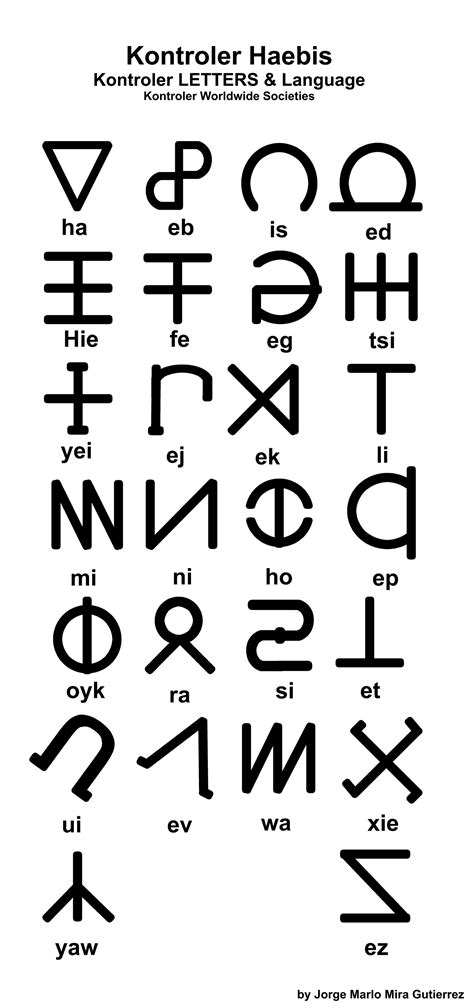 Letter Symbols pics for gt satanic symbols satanic alphabet